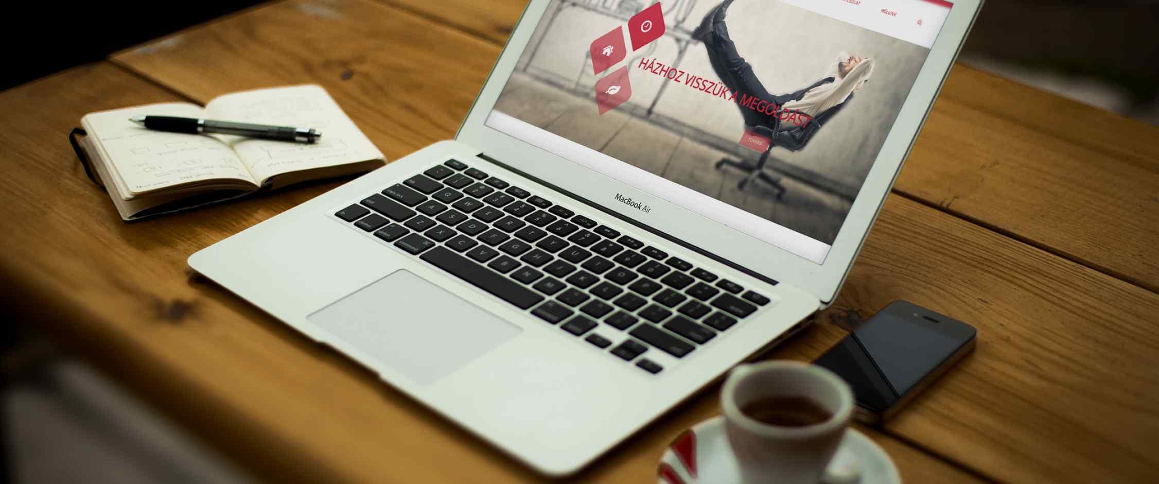 Expert Sales webldal fejlesztés