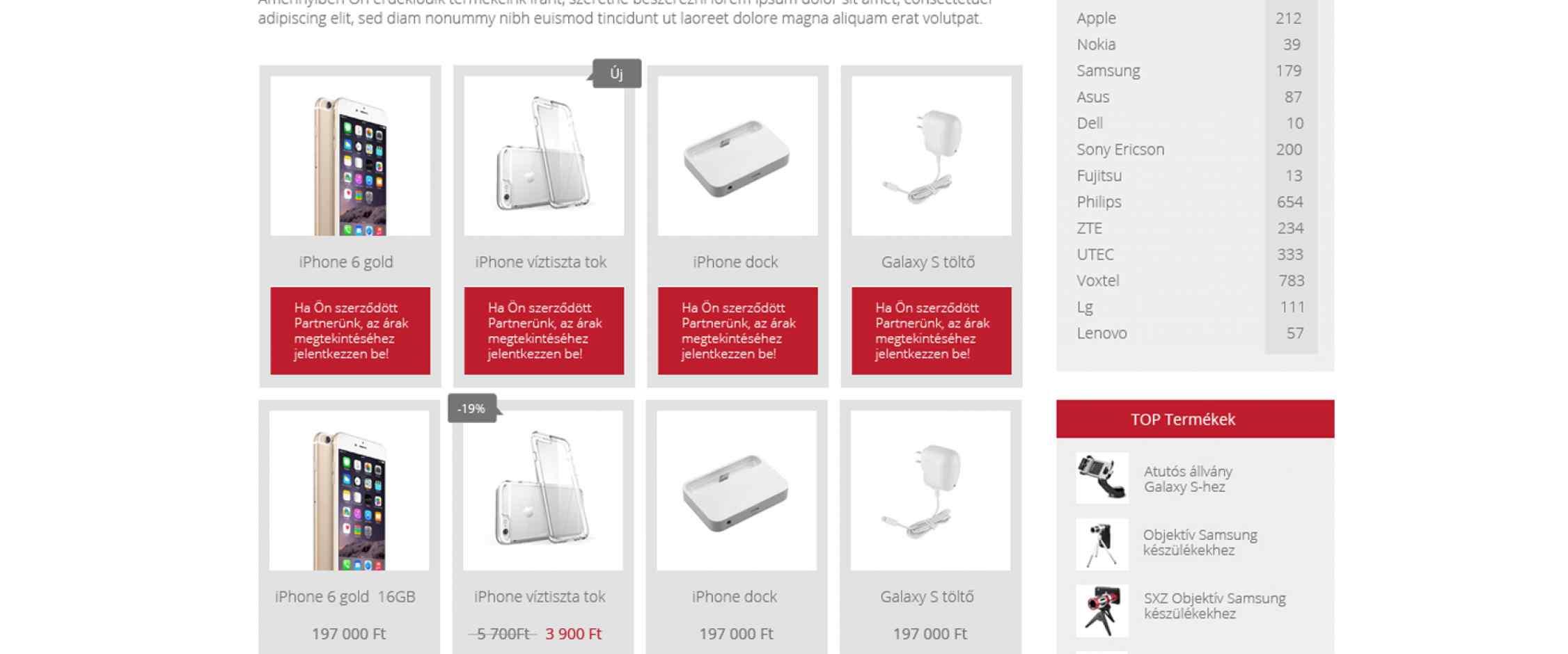 Expert Sales webshop készítés