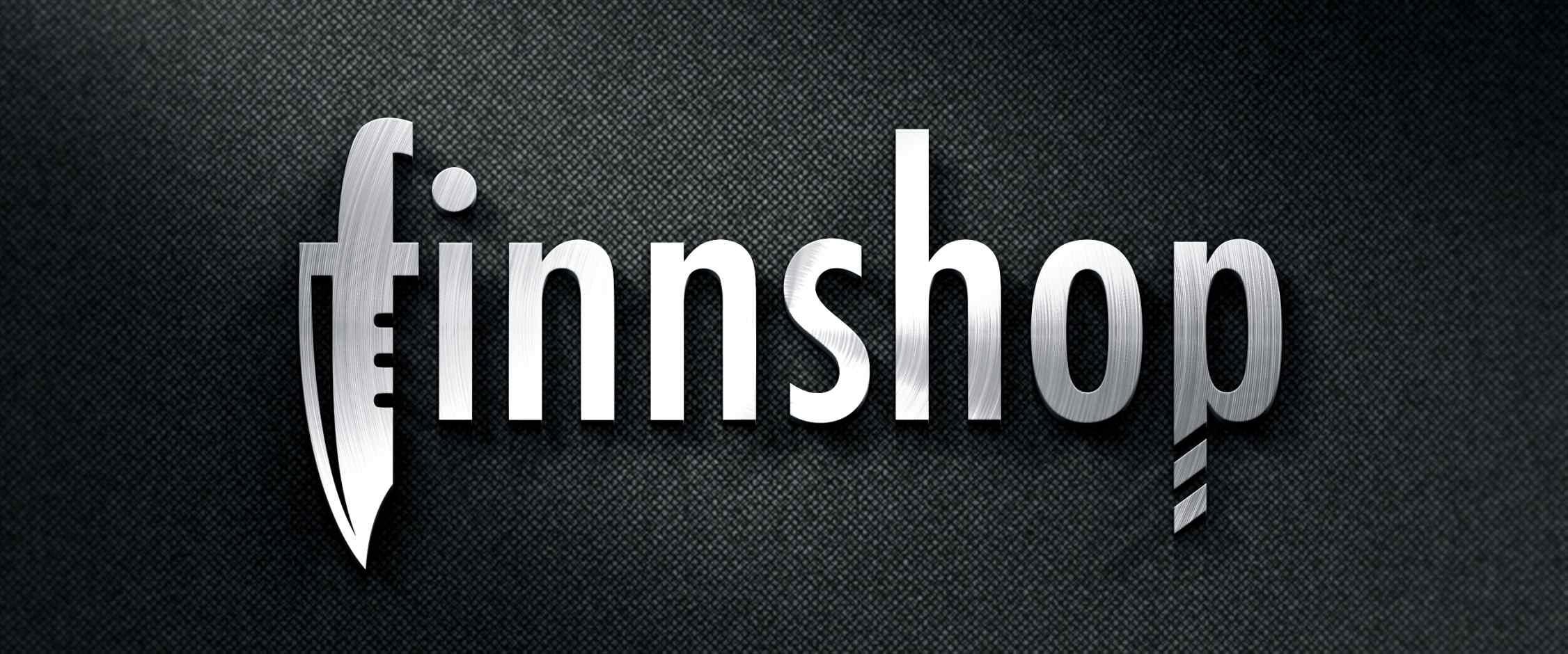 Finnshop céglogó tervezés