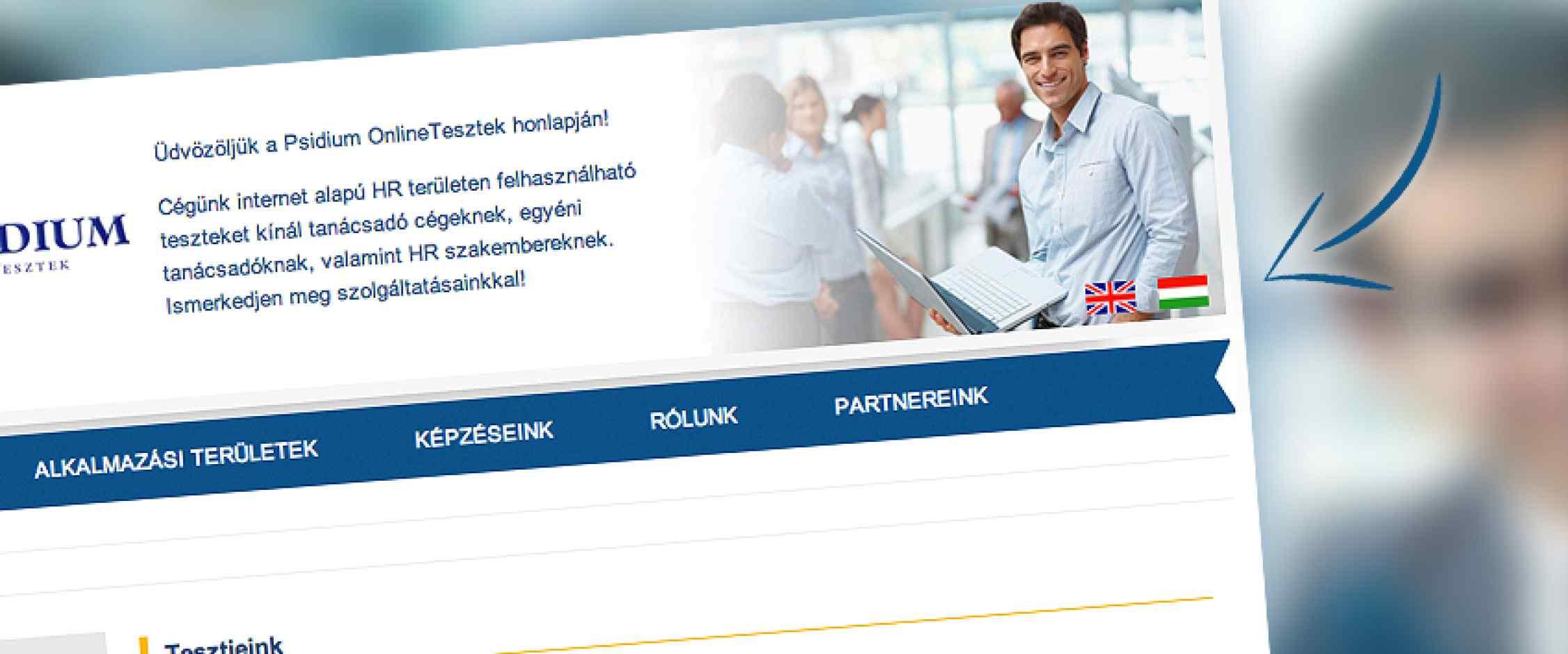 Psidium többnyelvű honlap készítés