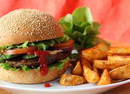 Hamburger fotó webáruházhoz