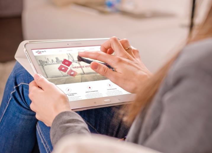 Expert Sales responsive weboldal készítés