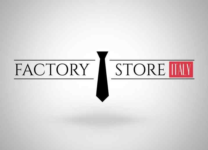 Factory Store Italy logó tervezése