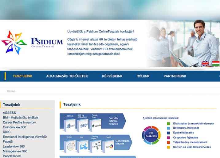 Psidium többnyelvű weboldal készítés