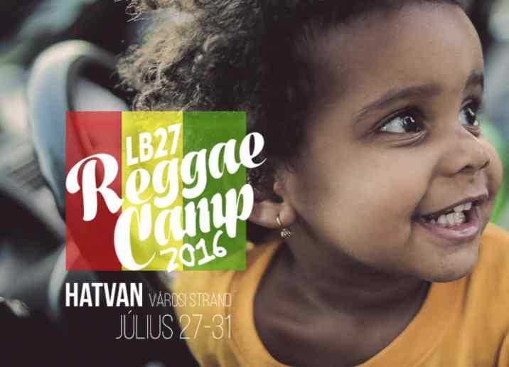 Lb27 Reggae Camp weboldal készítés